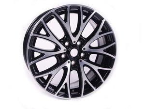 "ES#2612101 - 36116854451 - R134 MINI JCW Cross Spoke Wheel 19"" (5x120) - Black Gloss Turned - Priced Each - 19 X 7.5J ET:52 - Genuine MINI - MINI"