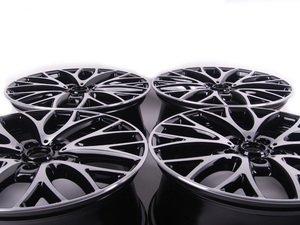 """ES#2702617 - 36116854451KT - R134 MINI JCW Cross Spoke Wheel 19"""" (5x120) - Black Gloss Turned - Set Of 4 - 19 X 7.5J ET:52 - Genuine MINI - MINI"""