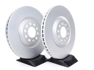 ES#257417 - 8L0698301AKT2 -  Front Brake Rotors - Pair (312x25) - Featuring a protective Meyle Platinum coating. - Meyle - Audi Volkswagen