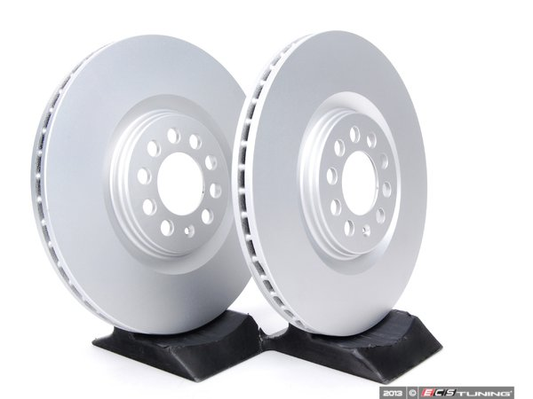 ES#257417 - 8L0698301AKT2 -  Front Brake Rotors - Pair (312x25) - Featuring a protective Meyle Platinum coating. - Meyle - Audi Volkswagen