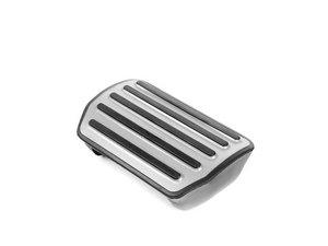ES#1446690 - 95542321210 - Brushed Aluminum Pedal Cap - Brake - Aluminum brake pedal with rubber grips - Genuine Porsche - Volkswagen Porsche