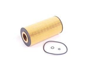 ES#2643056 - 6061800109 - Engine Oil Filter Kit - Priced Each - Includes all o-rings needed for installation - Hengst - Mercedes Benz