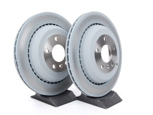 ES#2681356 - 1644231312KT1 - Rear Brake Rotors - Pair (330x22) - Does not include new rotor securing screws - Genuine Mercedes Benz - Mercedes Benz