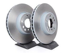 ES#2594235 - 34116794304KT3 - Front Brake Rotors - Pair (332x30) - From a leader in braking technology  - Brembo - BMW