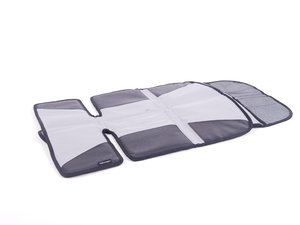 ES#2640032 - 000019819 - Child seat pad - Fits below a child seat to protect vehicle seat and provides a useful storage pocket - Genuine Volkswagen Audi - Volkswagen
