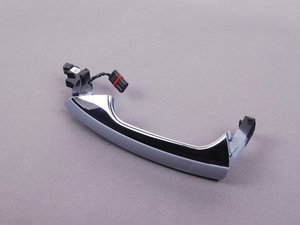 ES#2141348 - 20476013709999 - Exterior Door Handle - Left Side - Must be painted to match the vehicles color (Color Code 9999) - Genuine Mercedes Benz - Mercedes Benz
