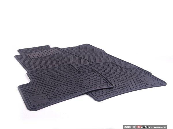 Genuine mercedes benz q6680344 all season floor mats for Genuine mercedes benz floor mats