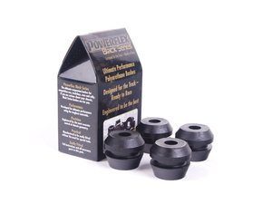 ES#2650300 - PFF85-250Bx4 - Race Polyurethane Subframe Bushing Set - A more planted subframe means a more planted car and better handling - Powerflex Black Series - Volkswagen