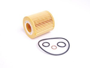 ES#2695963 - 11427508969 - Oil Filter Kit - European - For N40-N46 European 4 cylinder engines - Mann -