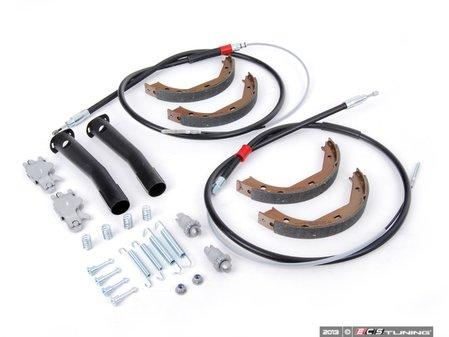 ES#2637069 - 34411165021KT3 - Parking Brake Refresh Kit - Everything you need to service your parking brake system - Assembled By ECS - BMW