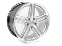 "ES#3187963 - 620-5B - 18"" Style 620 Wheels - Set Of Four - 18""x8"" ET35 CB66.6 5x112 Hyper Silver with Black barrel - Alzor - Audi"