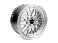 "ES#2598317 - 881AKT2 - 18"" Style 881 Wheels - Set Of Four  - 18""x8.5"" ET45 66.6CB 5x112 Silver With Machined Lip - Alzor - Audi MINI"