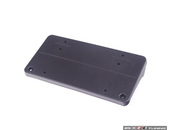 Genuine mercedes benz 2038853381 front license plate for Mercedes benz front license plate frame