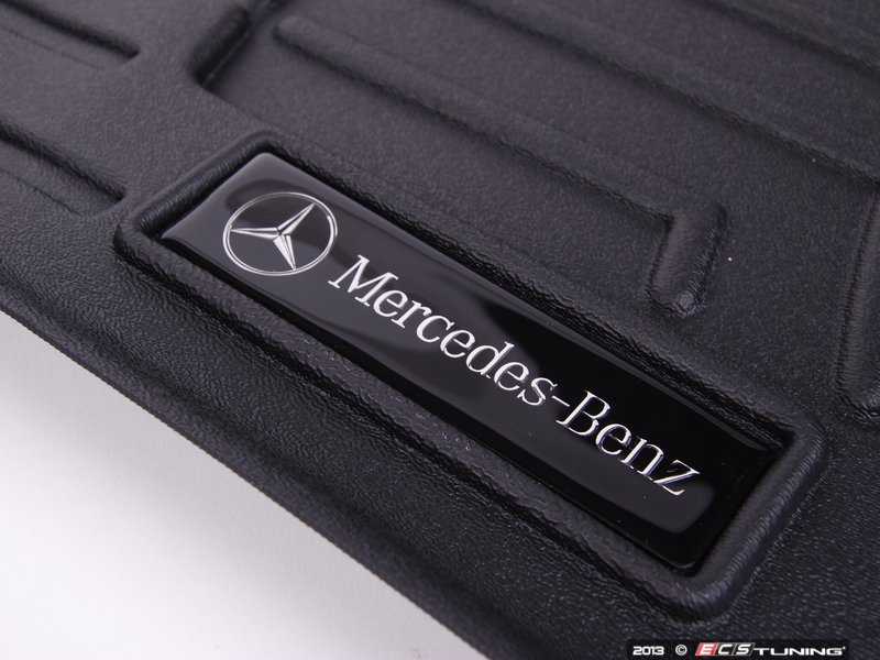 genuine mercedes benz 16668035019051 all season floor mats black. Cars Review. Best American Auto & Cars Review