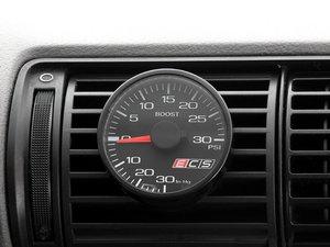 ES#2664824 - 001576ECS01KT -  ECS Vent Pod Boost Gauge Kit - Vent-mounted digital boost gauge for B5 S4 looks factory installed - ECS - Audi