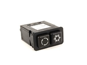 ES#166629 - 61311380310 - A/C air flow switch - Controls your air conditioning unit as well as recirculating air flow - Genuine BMW - BMW