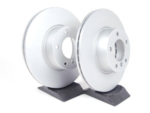 ES#2515549 - 34116855006kt1 - Front Brake Rotors - Pair (312x24) - Featuring a protective Meyle Platinum coating. - Meyle - BMW