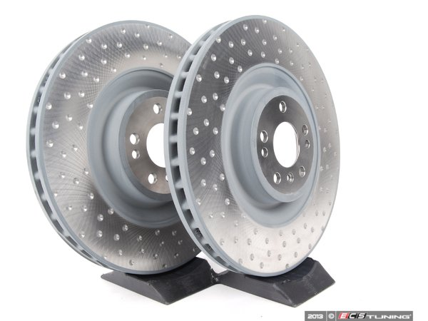 Genuine mercedes benz 1644230812kt1 rear brake rotors for Mercedes benz rotors