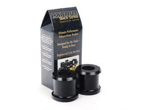 ES#2650793 - PFF85-502Bx2 - Race Polyurethane Control Arm Bushings - Rear Position - Improves handling and control, upgrade to a more engaging driving experience - Powerflex Black Series - Audi Volkswagen