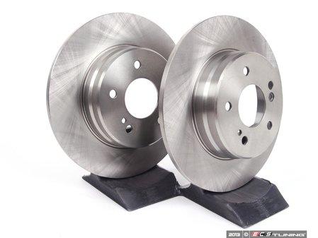 ES#2561825 - 2104231012 - Rear Brake Rotors - Pair - Solid Rotors - 290mm Diameter  - Balo - Mercedes Benz