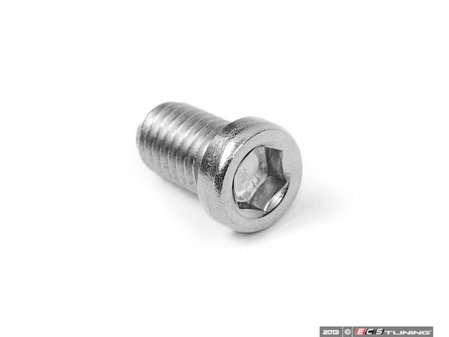 ES#2550873 - 001359ECS01A - Stainless Brake Rotor Set Screw - Priced Each - Made from stainless steel so it will not seize into the hub - ECS - BMW