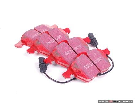 ES#517822 - dp31114c - RedStuff Performance Brake Pads - Square Sensor - A high performance street pad, featuring Kevlar technology. - EBC - Audi Volkswagen