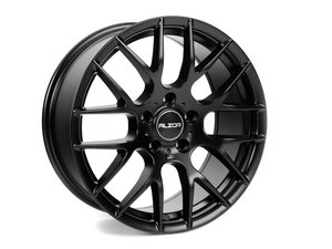 "ES#2713038 - 030-9 - 18"" Style 030 Wheels - Set Of Four - 18""x8"" ET35 5x112 - Matte Black - Alzor - Audi Volkswagen"