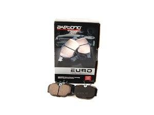 ES#514288 - eur493 - Front Euro Ceramic Brake Pad Set - Low dust replacement brake pad - Akebono - BMW