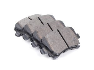 ES#9372 - HB544Z.628 - Rear Performance Ceramic Brake Pad Set - Ceramic composite developed to meet the ultra-low dust and low noise requirements. - Hawk - Audi Volkswagen