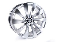 "ES#2142976 - 621-3 - 17"" Style 621 (17x7.5, ET45, 5x112, 66.6CB) Hyper Silver - (NO LONGER AVAILABLE) - Alzor -"