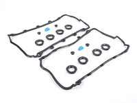 ES#2684765 - 077198025AKT2 - Valve Cover Gasket Kit - Includes the gasket sets for the left and right valve cover - Victor Reinz - Audi Volkswagen