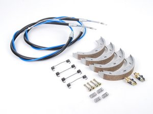 ES#2626506 - 34411158421KT - Parking Brake Refresh Kit - Everything you need to service your parking brake system - Genuine BMW - BMW