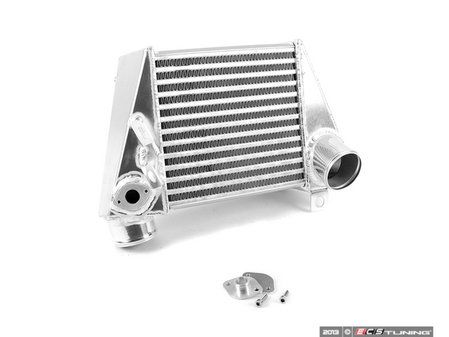 ES#1832080 - fmintmk4s - Side Mount Intercooler - Polished - Fits in stock location, excellent upgrade over stock - Forge - Volkswagen