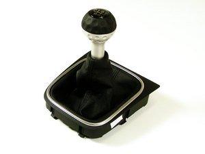 ES#2090735 - 1K0064285G - Retro GTI Manual Shift Knob - 6 speed shift pattern - Genuine Volkswagen Audi - Volkswagen