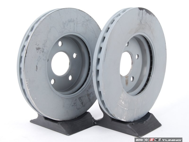 Genuine mercedes benz 2114211212kt2 front brake rotors for Mercedes benz rotors and pads