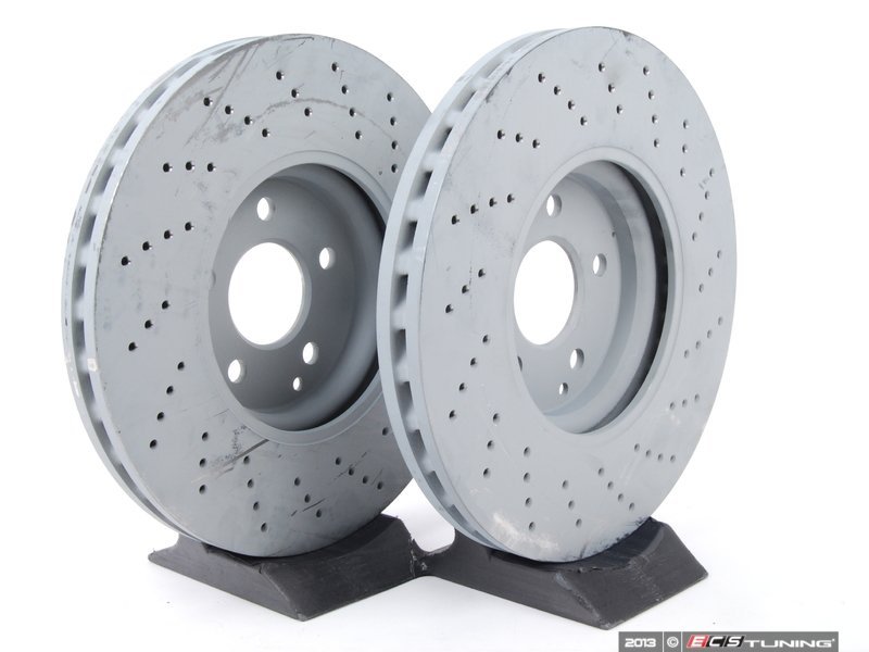 Genuine Mercedes Benz 2204211812kt1 Front Brake Rotors