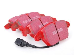 ES#517818 - DP31517C - Front RedStuff Performance Brake Pad Set - High performance street pad featuring Kevlar technology. - EBC - Audi Volkswagen
