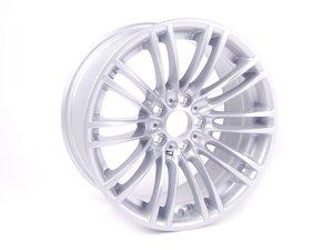 "ES#1897719 - 36102284050 - 18"" M Double Spoke Style 219 Wheel - Priced Each - 18x8.5 ET29 72.6mm CB Reflex Silver - Genuine BMW - BMW"