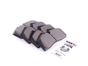 ES#1305613 - HB141Z.650 - Performance Ceramic Brake Pad Set - High performance ultra-low dust and noise compound - Hawk - Audi Porsche