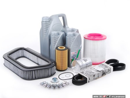 ES#257775 - D3A84.2skkt - ECS Tuning 40k Service Kit - Everything you need to perform the recommend 40k mile service - Assembled By ECS - Audi Volkswagen