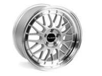"""ES#2681452 - 88111KT - 18"""" Style 881 Wheels - Square Set Of Four - 18x8.5"""" ET35 72.6CB 5x120. Silver with machined finish 2"""" lips! - Alzor - BMW"""