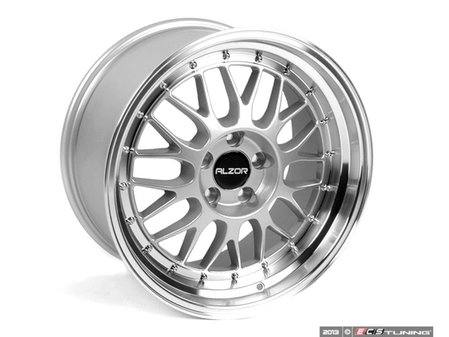 "ES#2681455 - 88112KT - 18"" Style 881 Wheels - Square Set Of Four  - 18x9.5"" ET35 5x120 72.6CB. Silver with machined finish 2.75"" lips! - Alzor - BMW"