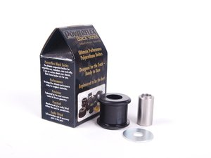 ES#2651005 - PFF85-505B - Performance Polyurethane Dogbone Mount Bushing - Race - A more solid bridge between your chassis and transmission for a better driving experience - Powerflex Black Series - Audi Volkswagen
