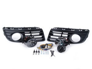 ES#250620 - 1K0998012 - Fog Light Conversion Kit - ZiZa Brand Projector - Complete kit to install fog lights on your Jetta, a 38 piece kit - Assembled By ECS - Volkswagen
