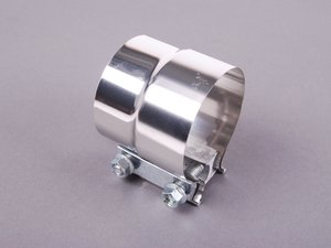 ES#2702769 - BK7333222 - Stainless Steel Sleeve Clamp - 76.2mm - Highly flexible sleeve clamp, great for custom applications - NAPA - Audi BMW Volkswagen Porsche