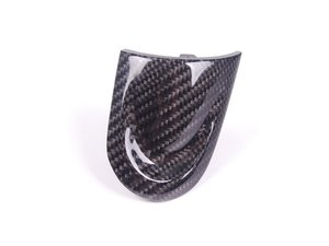 ES#52303 - 32300421083 - Carbon Fiber JCW Cover For Sport Wheel - Right - CF JCW section for the sport steering wheel - Genuine MINI - MINI