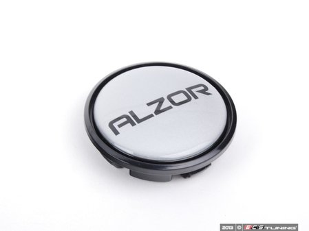 ES#2695421 - 15031880-B - Center Cap - Silver/Black - Priced Each - For Alzor Style 640 wheels - Alzor - Audi Volkswagen
