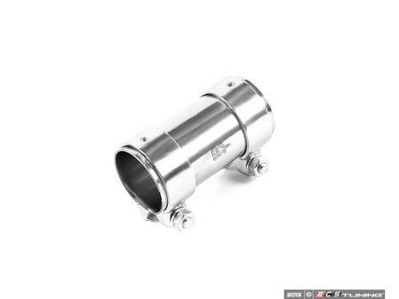 ES#3023 - 357253141A - Dual Clamp Exhaust Sleeve - Priced Each - Quiet down your leaking exhaust. 55mm - HJS - Audi Volkswagen