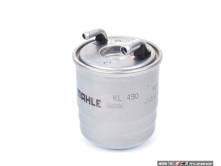 ES#2707961 - 6420920301 - Fuel Filter - Priced Each - For vehicles with 180 watt center heating element, does not include o-rings - Mahle - Mercedes Benz