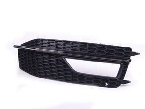 ES#2540959 - 8K0807682M01C - Fog Light Grille - Satin Black - Right - Keep your exterior looking clean - Genuine Volkswagen Audi - Audi